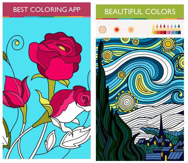 Colorfy Coloring Pages Game