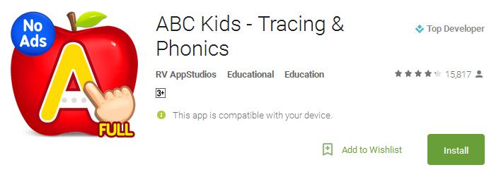 ABC Kids - Tracing & Phonics App