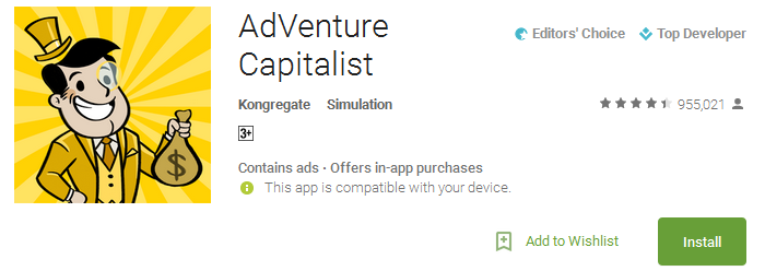 Download AdVenture Capitalist App