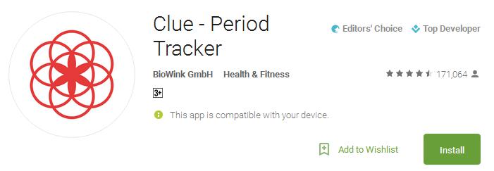 Download Clue - Period Tracker App