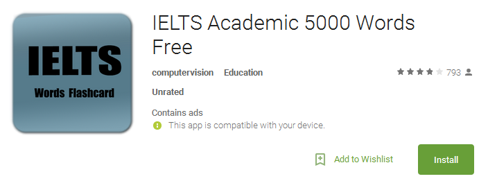 Download IELTS Academic 5000 Words Free