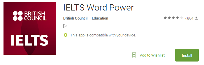 Download IELTS Word Power App