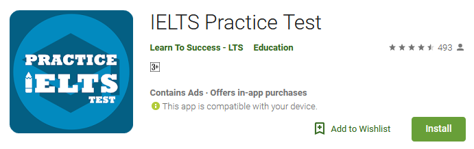 Download IELTS test App