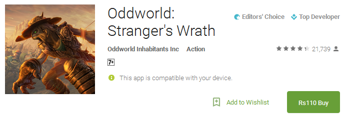 Download Oddworld Stranger's Wrath App