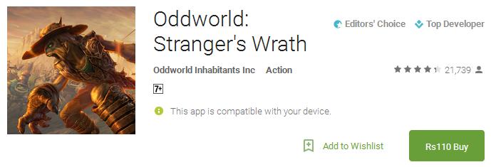 Download Oddworld Stranger's Wrath App