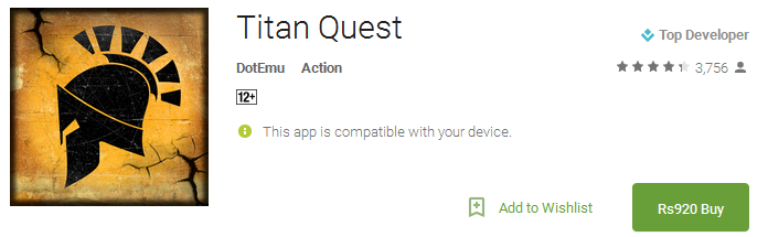 Download Titan Quest App