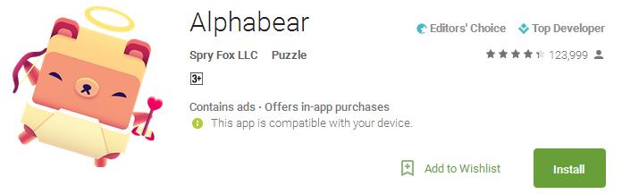 Alphabear APP