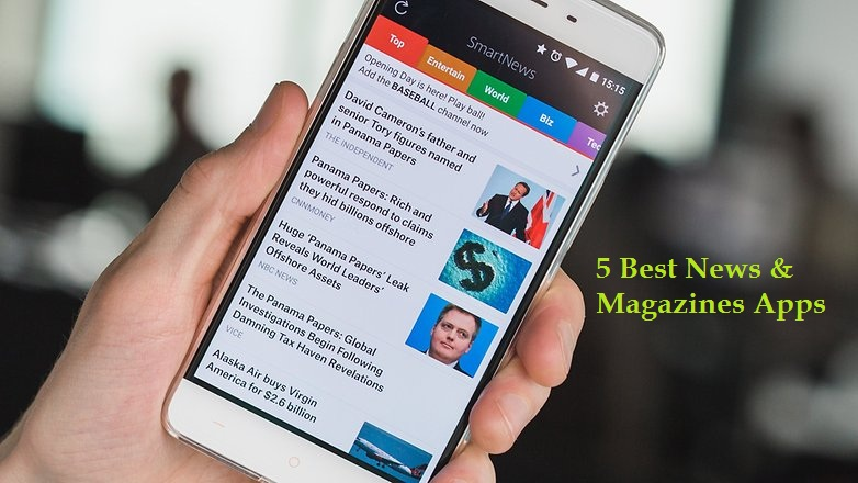 5 Best News & Magazines Apps