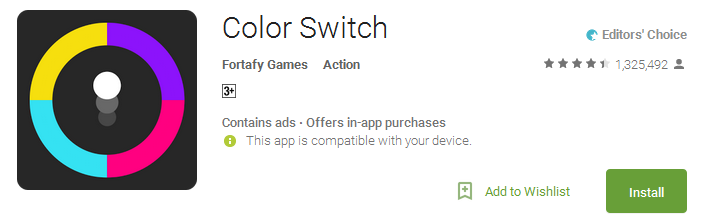 Color Switch App