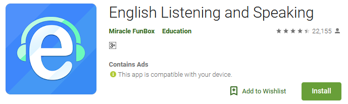 Download English Listening and Speaking