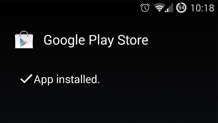 How to install Google Play Store app