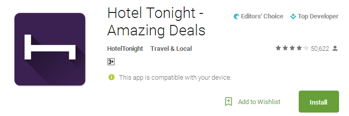 Hotel Tonight - Amazing Deals
