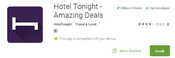 Hotel Tonight - Amazing Deals