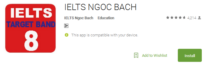 IELTS NGOC BACH App
