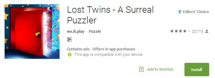 Lost Twins APP