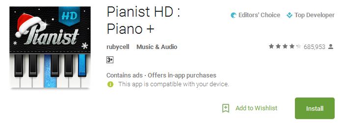 Pianist HD - Piano +