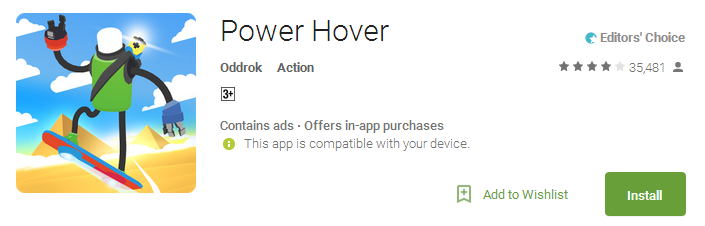 Power Hover App