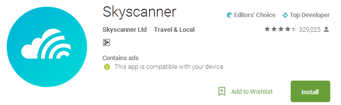 Skyscanner Apps
