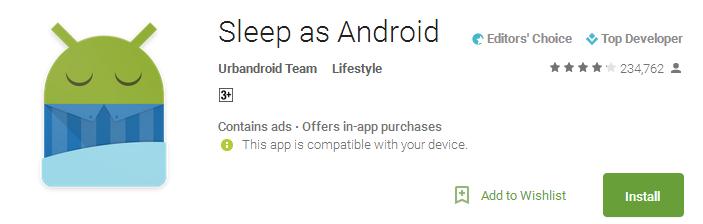 Sleep as Android App