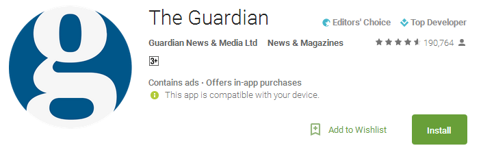 The Guardian App