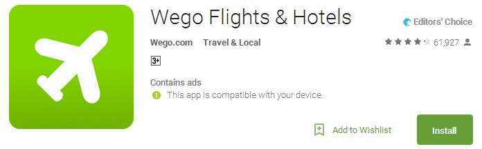 Wego Flights & Hotels APP