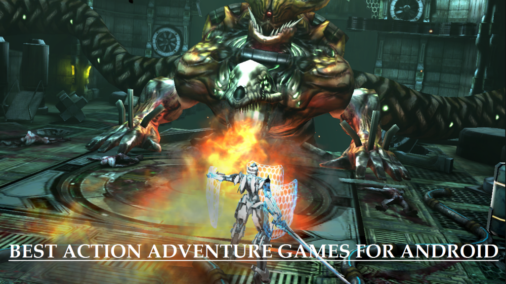 Top ACTION ADVENTURE GAMES FOR ANDROID
