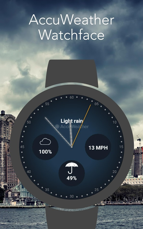 AccuWeather watchface