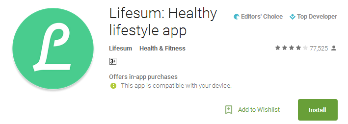 Lifesum - Healthy lifestyle app