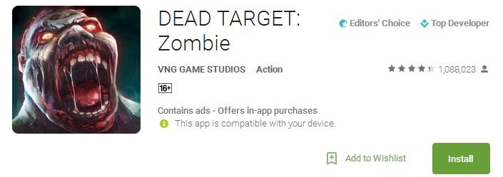 DEAD TARGET App