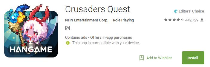 Download Crusaders Quest App