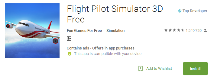 Download Flight Pilot Simulator 3D Free