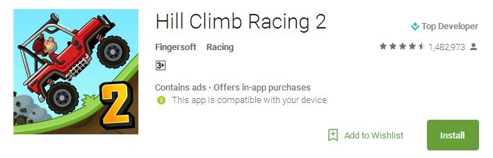 Download Hill Climb Racing 2 App