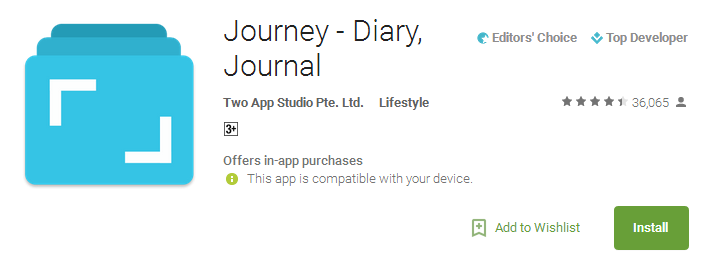 Download Journey - Diary Journal App