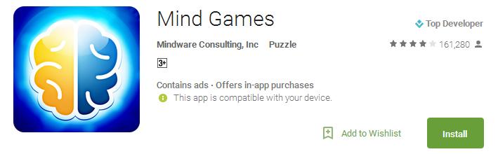 Download Mind Games App