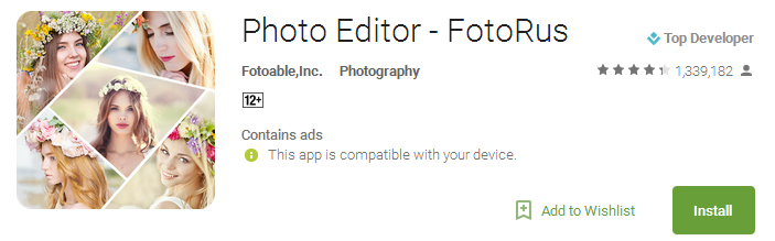 Download Photo Editor Apps - FotoRus