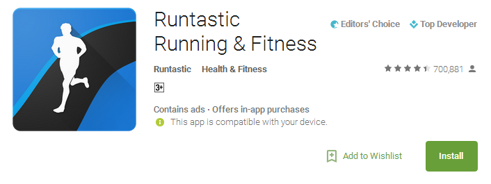 Download Runtastic Running & Fitness