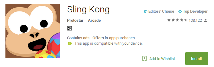 Download Sling Kong App