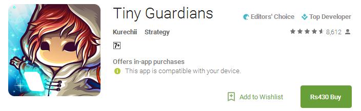 Download Tiny Guardians App