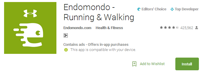 Endomondo - Running & Walking App