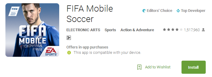 fifa mobile download