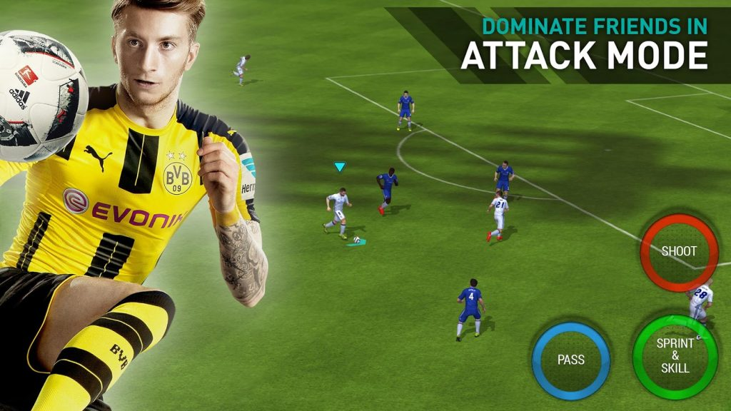 FIFA mobile Attack mode
