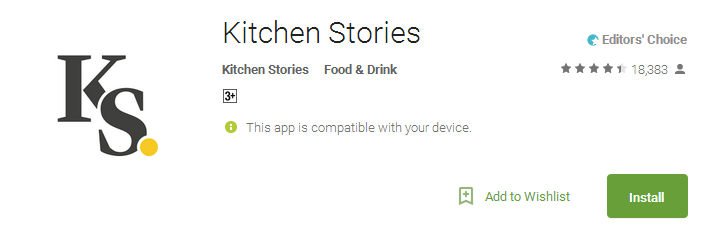 Kitchen Stories Apps
