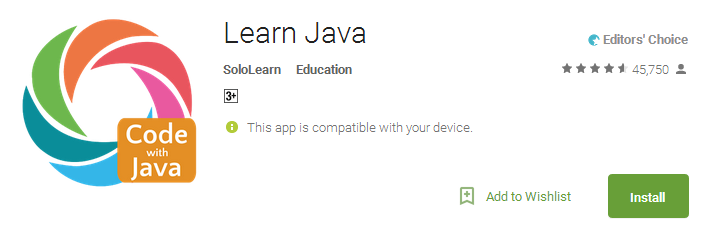Download Learn Java Education App