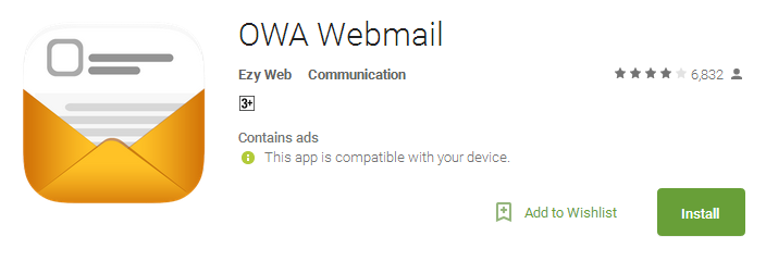 OWA Webmail App