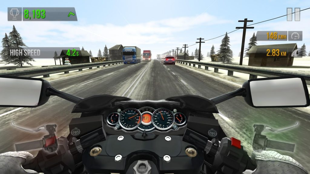 Traffic Rider - Racing Games Online