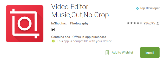Video Editor Music App