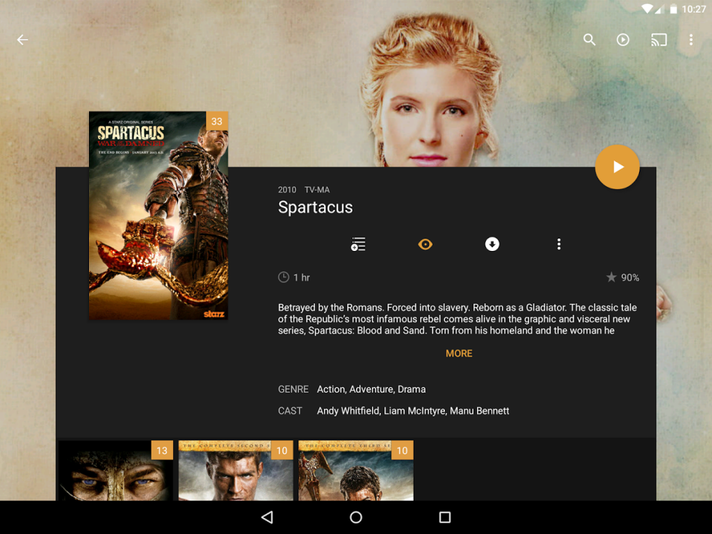 Plex for Android App