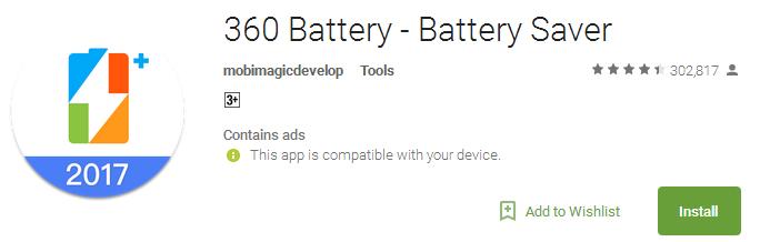 360-Battery-Battery-Saver-App