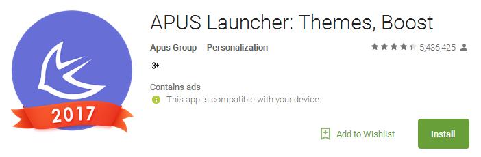 Download APUS Launcher App