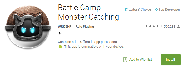 Download Battle Camp - Monster Catching